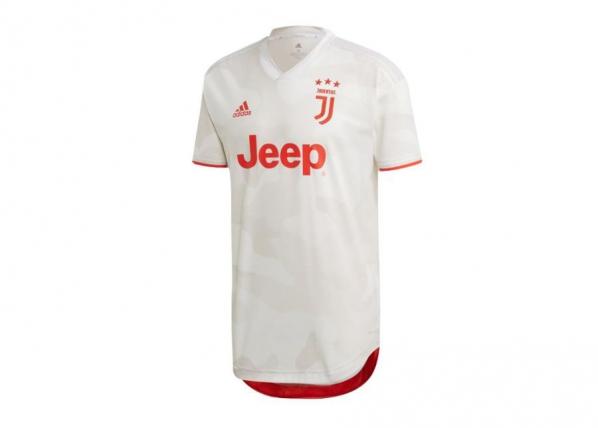 Miesten jalkapallopaita adidas Juventus Away Authentic 19/20 M DW5462 TC-249968