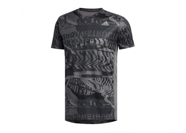 Miesten treenipaita adidas Own The Run Tee M ED9282 TC-251012