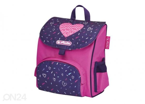 Koulu- ja selkäreppu Mini Softbag Tropical Heart BB-251691
