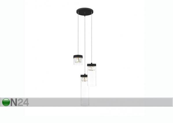 Rippvalgusti Gem Black Ø 31 cm A5-253367