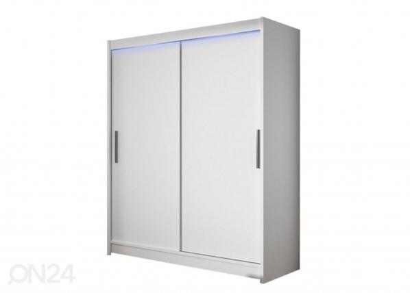 Lükandustega riidekapp Westa I + LED RF-259134