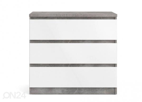Комод серый бетон тяжелый отделочный цементный раствор вес
