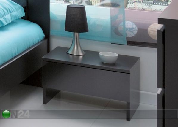 Yöpöytä BLACK MA-37233