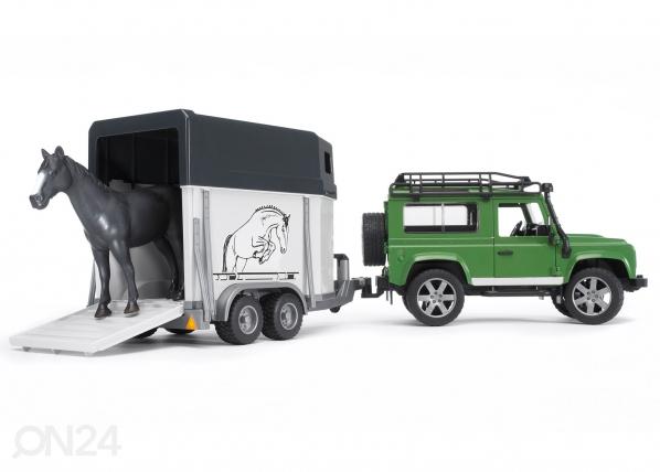 Maastoauto ja hevoskuljetuvaunu LAND ROVER KL-37625