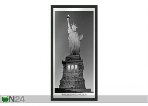 Taulu B&W NEW YORK STATUE OF LIBERTY 23x50 cm OG-37698