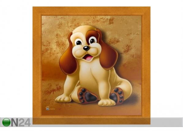 Taulu CHILDREN - DOG 16x16 cm OG-37705