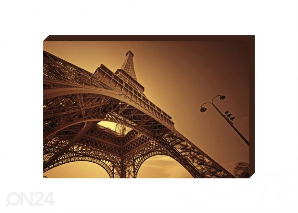 Taulu CANVAS - EIFFEL TOWER IN PARIS 50x70 cm OG-37739