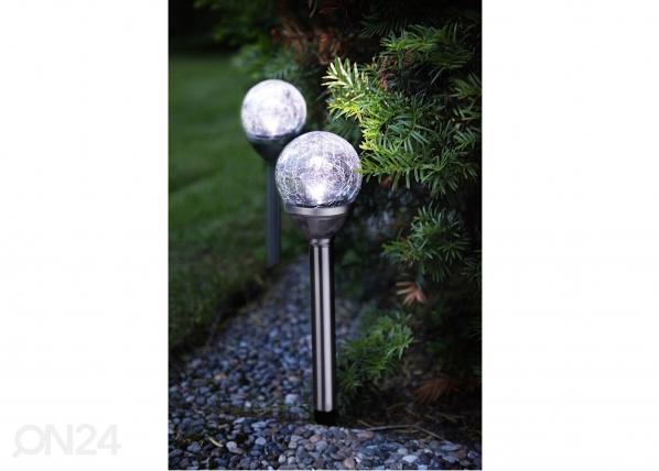 Комплект садовых светильников с солнечной панелью 2 шт AA-38734