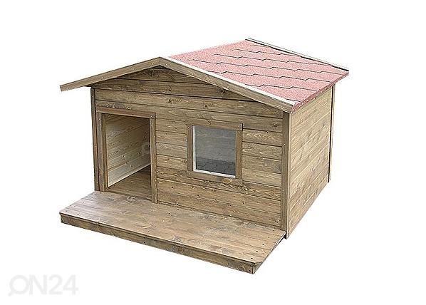 Koirankoppi+terassi, ilman lämpöeristystä ROCCO, Koerakuut