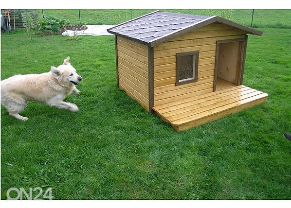 Koirankoppi lämpöeristyksellä+terassi ROCCO, Koerakuut