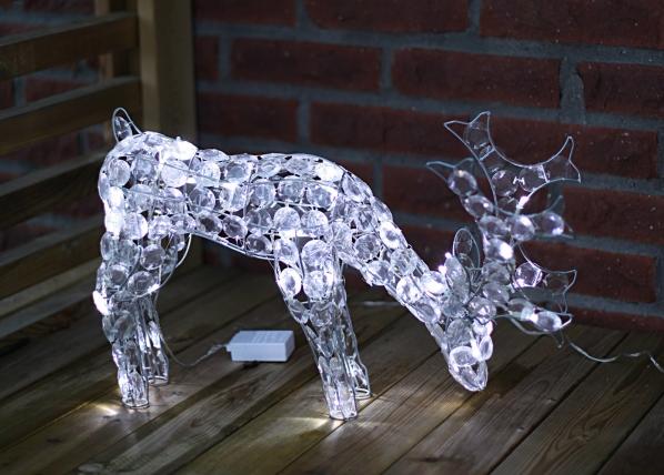 Jõulukaunistus õue Reindeer 34cm AA-43043