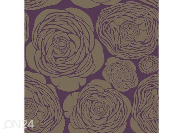 Tapetti TEARS, violetti tausta WA-43203