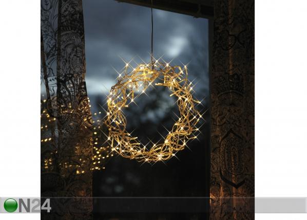 Jõulupärg Curly LED AA-44269