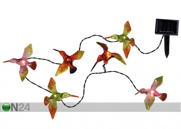 Aurinkopaneeli puutarhavalaisin LINNUT AA-47162
