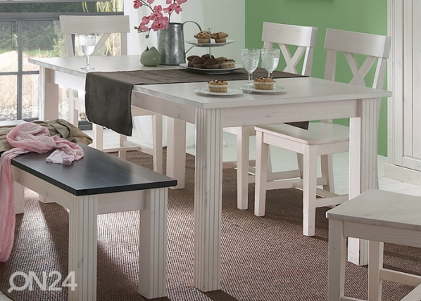 Удлиняющийся стол Monaco 401 90x160-204 cm CM-48172