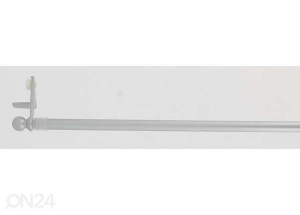 Ikkunan verhotanko 30-50 cm, hopea TG-48525