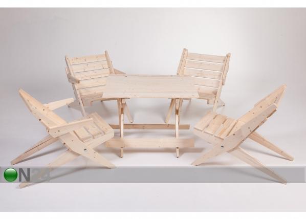 Комплект садовой мебели ME-48647