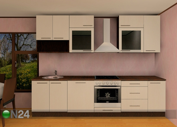 Baltest keittiö Luisa PLN 300 cm AR-52705