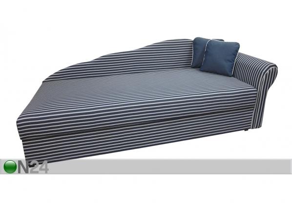 Pesukastiga diivan-voodi Helga 90x200 cm SN-54332