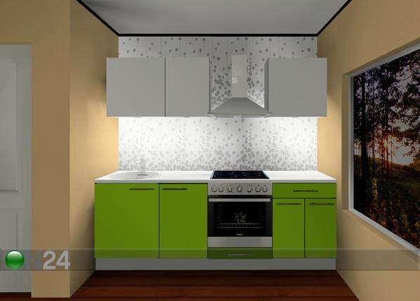 Baltest keittiö Kaisa 2 mini 220 cm AR-55426