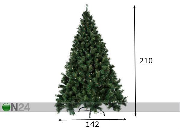 Kunstjõulupuu mänd 210cm AA-57383