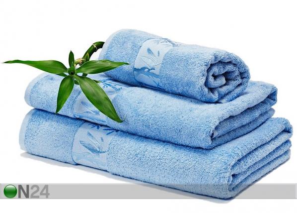 Bambu pyyhkeet sininen AN-58958