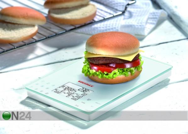 Keittiövaaka Soehnle ravintoarvon mittaamiseen UR-59447