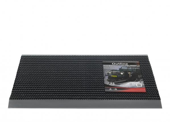 Muoviharjasmatto OUTLINE 50x80 cm AA-59728