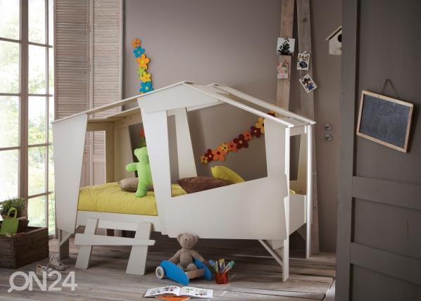 Lastensänky Cabane + patja Inter Bonnel 90x200 cm CM-60397
