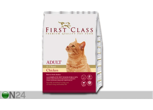 Kuivamuona FIRST CLASS Adult Cat Chicken HU-60420