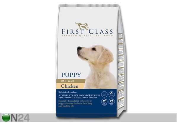 Kuivamuona FIRST CLASS Puppy Chicken HU-60457