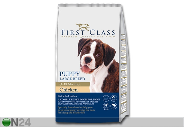 Kuivamuona FIRST CLASS Puppy Large Breed Chicken HU-60461
