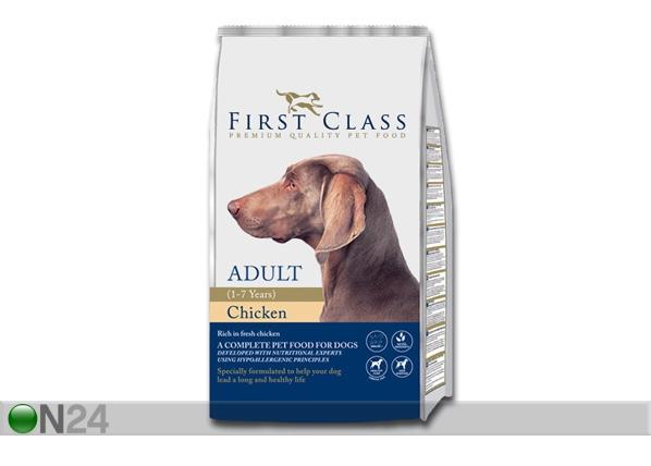 Kuivamuona FIRST CLASS kananliha täyskasvaneelle koiralle HU-60464