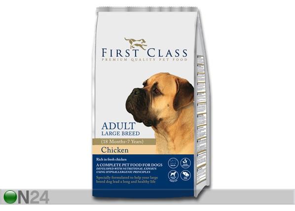 Kuivamuona FIRST CLASS kananliha suurikokoiselle koiralle HU-60468