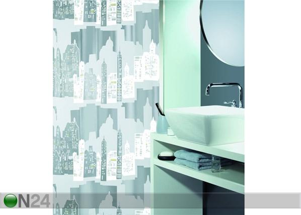 Spirella штора для ванной Skyline серебро UR-61357