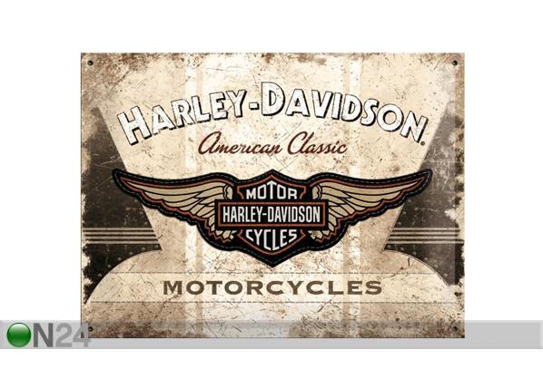 Retro metallposter Harley-Davidson Motorcycles 30x40cm SG-61608