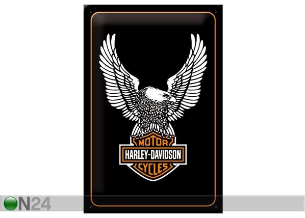 Металлический постер Harley-Davidson 20x30 см SG-61688