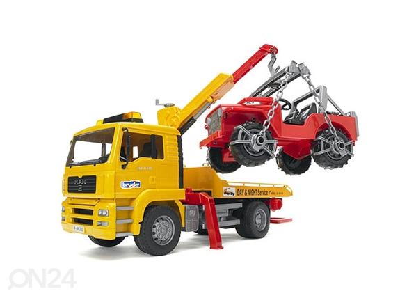 MAN puksiirauto + maastikuauto KL-63083