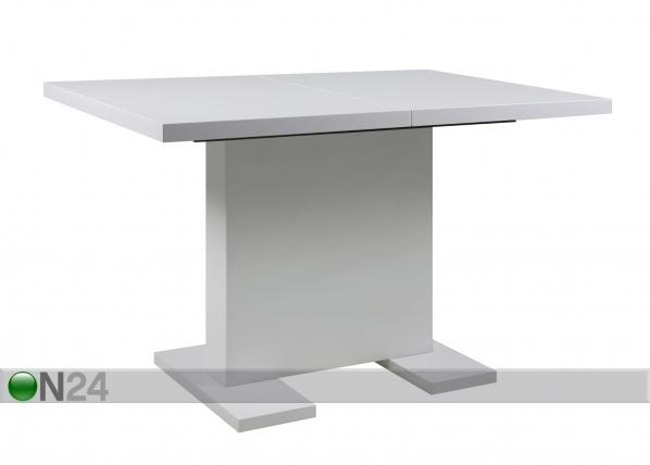 Jatkettava ruokapöytä GUST 80x120-160 cm CM-63763