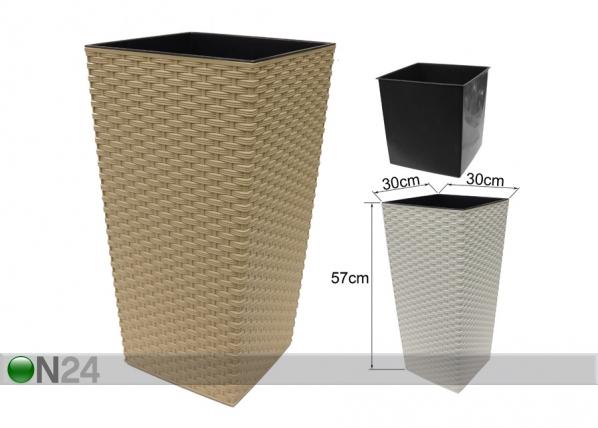 Kukkaruukku FINEZIA-R 30x30 cm ET-64330