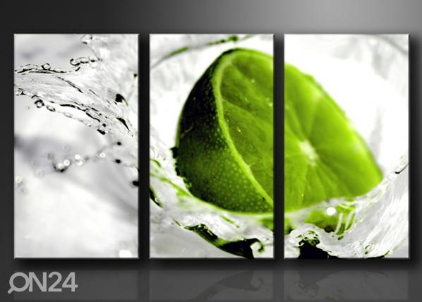 Kolmeosaline seinapilt Laimi ED-67576