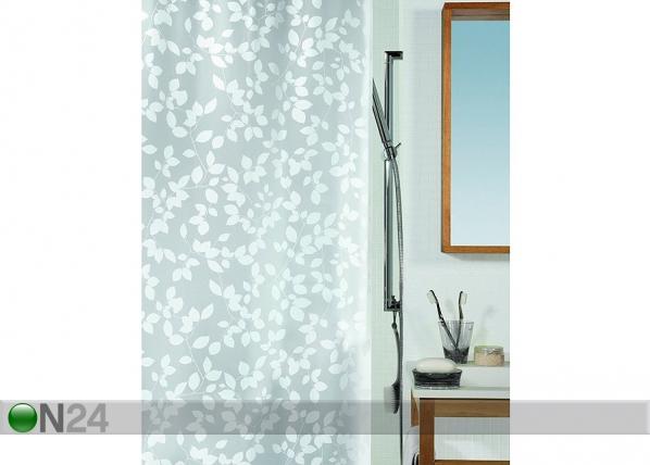 Vinyyli suihkuverho SPIRELLA BLATT valkoinen UR-67746