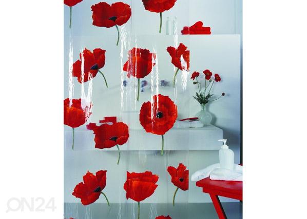 Spirella vinüülist vannikardin Poppy moon UR-67750