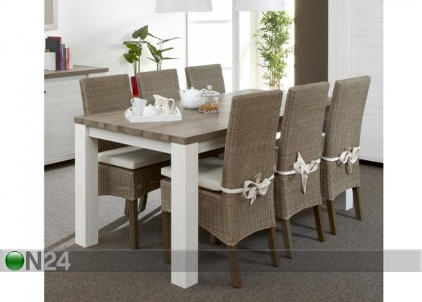 Ruokapöytä DELHI 101,5x230 cm AQ-67827