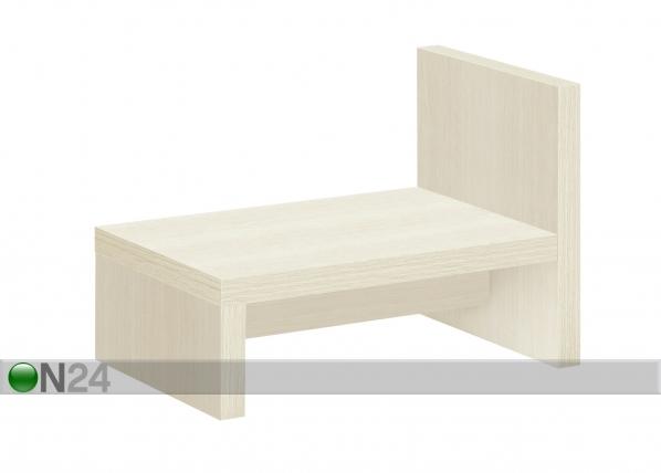 Yöpöytä BROOKLYN valkoinen kirsikka MA-69898