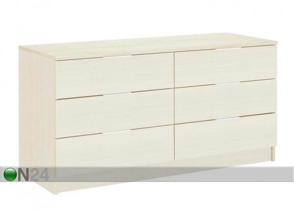 Lipasto BROOKLYN valkoinen kirsikka MA-69900