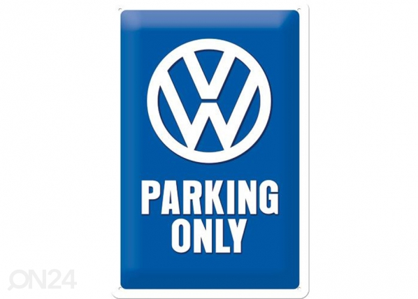 Retro metallposter VW Parking only 20x30cm SG-74271