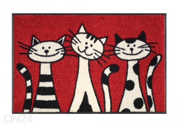 Matto THREE CATS 50x75 cm A5-74719