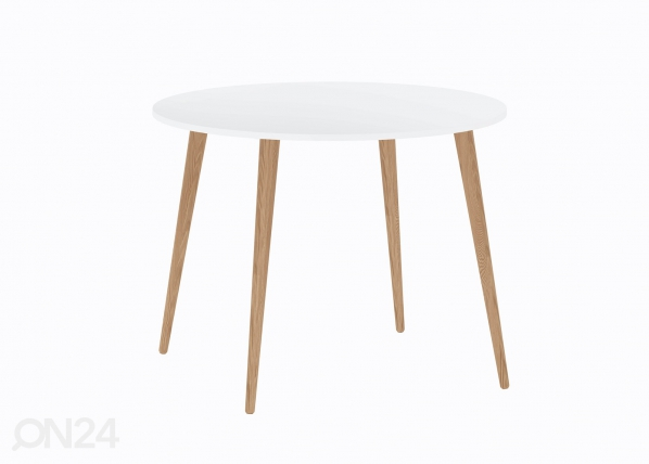 Ruokapöytä DELTA Ø 100 cm AQ-76105