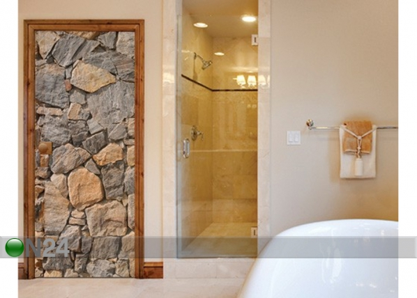 Fototapeet Wall of Granite 100x210cm ED-76723